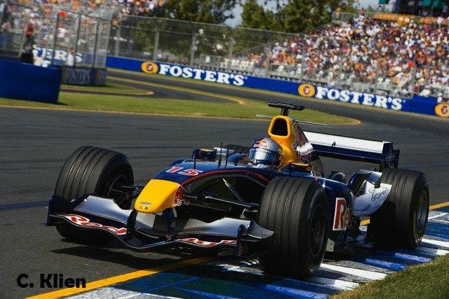 06 Mar 2005, Melbourne, Australia --- Formula One Driver Christian Klien --- Image by © Schlegelmilch/Corbis