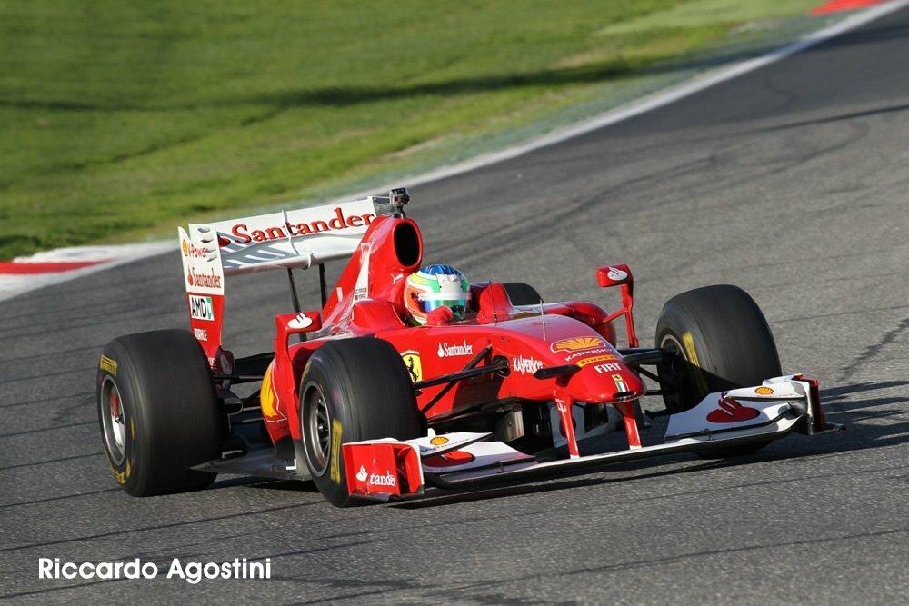 Riccardo Agostini sulla F60 a Vallelunga1